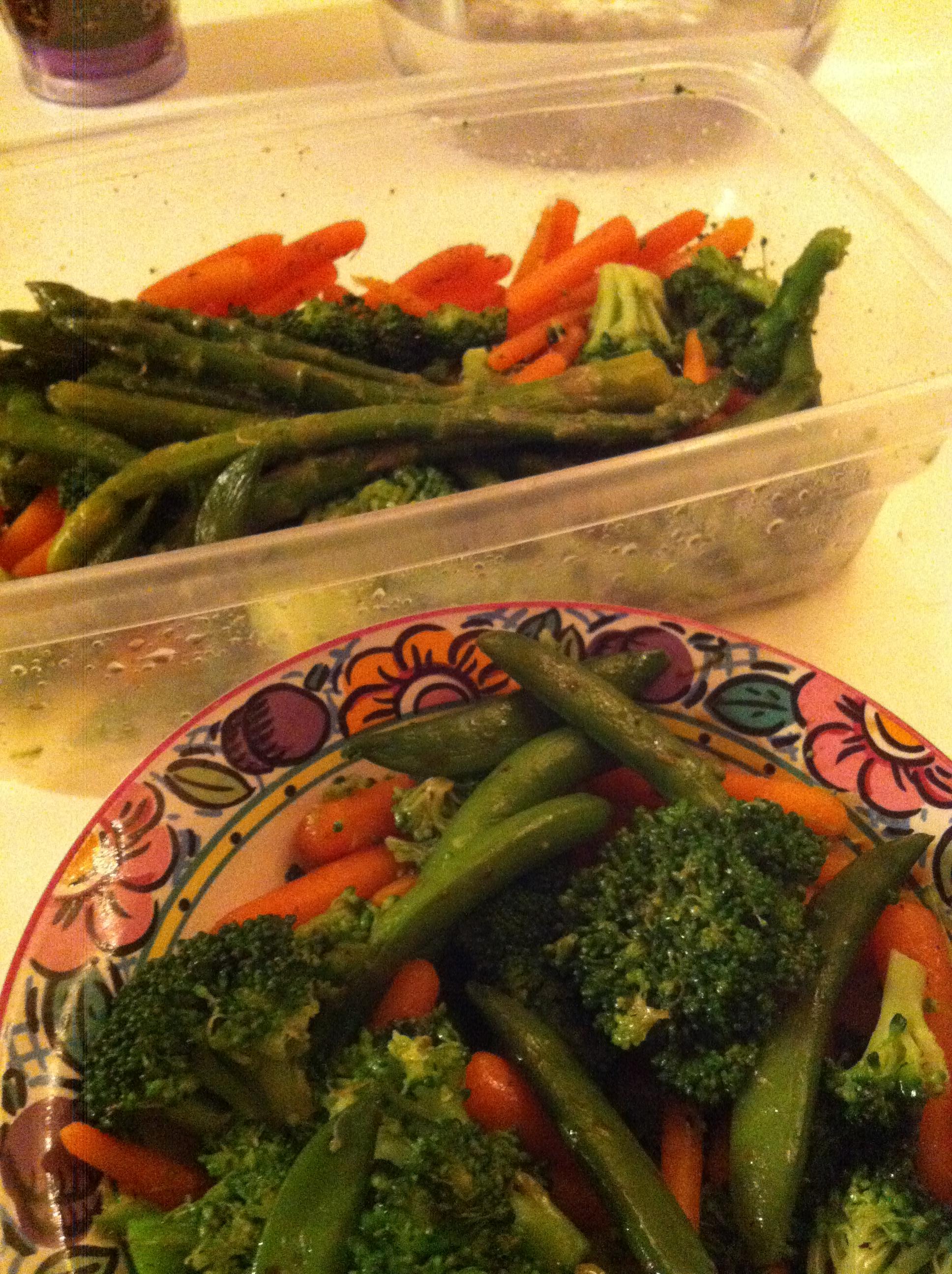 Seasoned Blanched Veggies