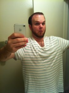 Big Shirt 20 Pounds Down
