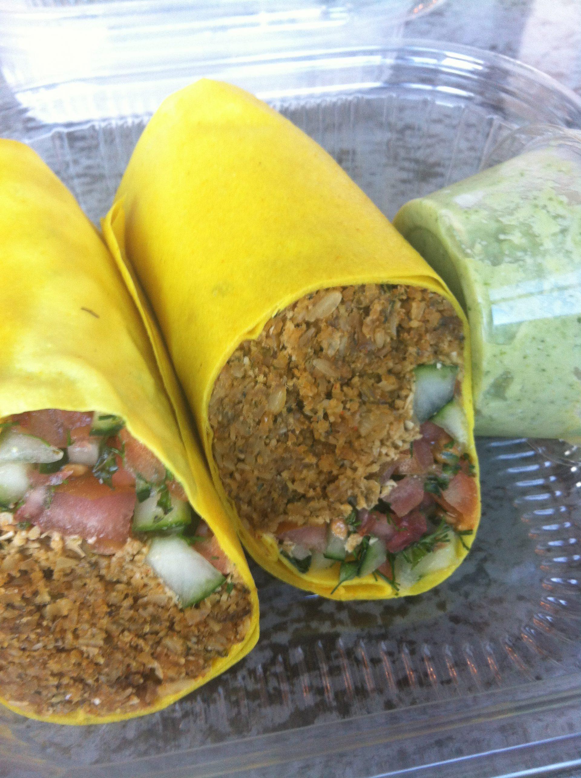 Lifefood Organic Raw Vegan Gluten Free Falafel