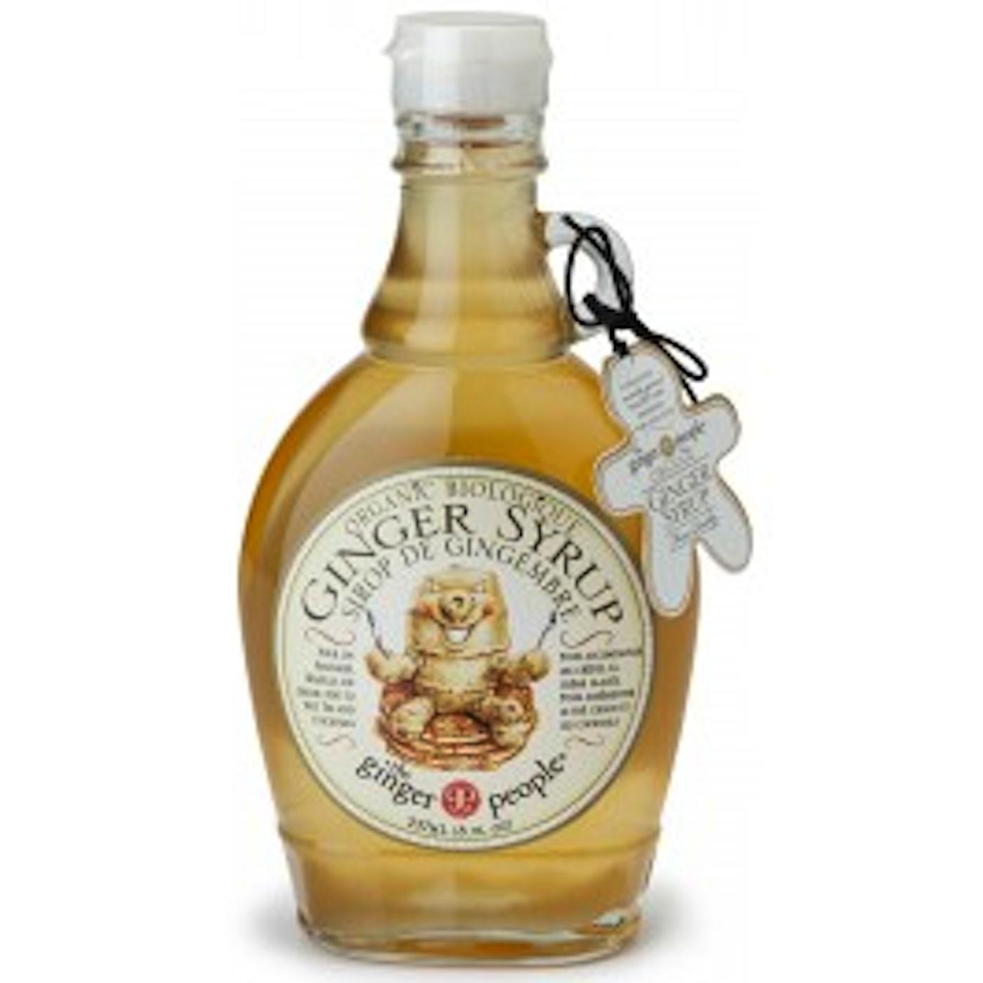 Organic Ginger Syrup