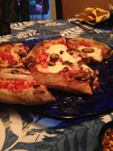 Homemade Brick Oven Pizza