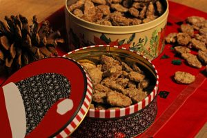 Sugared Pecans Side
